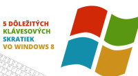 Klávesové skratky často zjednodušia používanie PC, a Windows 8 zjednodušovanie naozaj potrebuje. Nový systém zožal veľa kritiky pre neintuitívne ovládanie včetne zmiznutia tlačidla Vypnúť zdobre dostupného menu.