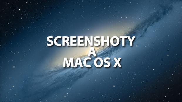 """Ak potrebujete """"vyfotiť obrazovku"""", okno aplikácie, alebo len určitý výrez obrazovky – vytvoriť tzv. screenshot v Mac OS X, poslúži vám tento jednoduchý návod. Pre základné funkcie vám bohate postačí […]"""