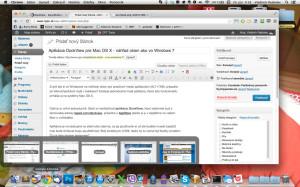 DockView pre Mac OS X - náhľad okien v dock-u