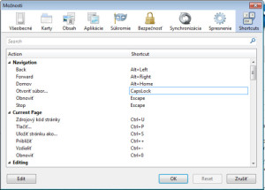Firefox - Shortcuts plugin