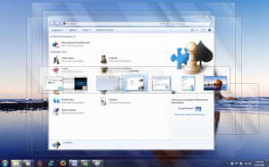 Windows 7 a ALT+TAB - náhľad okien aplikácie