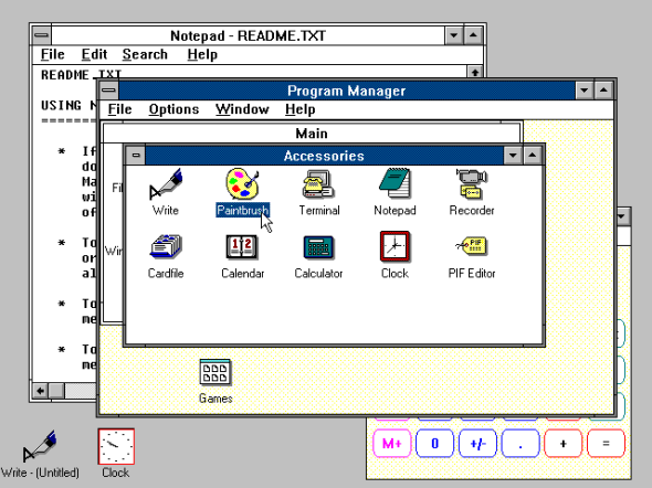 Windows 3.0 (1990)
