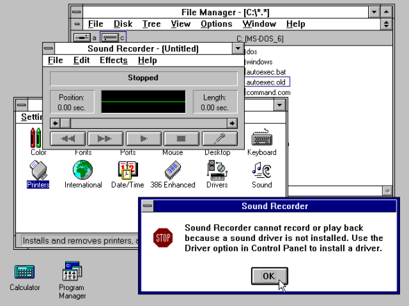 Windows 3.1 (1993)