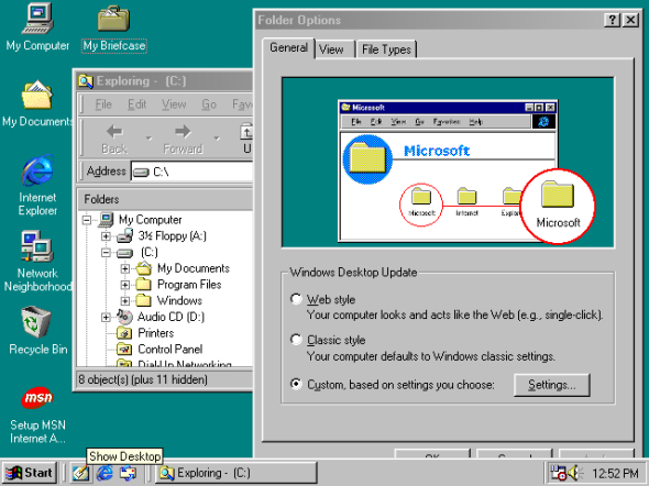 Windows 98 SE (1999)