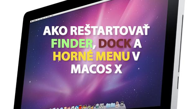 Dnes sa pozrieme na to, ako reštartovať zamrznutý/neodpovedajúci Finder, Dock, či horné menu v MacOS X. Obča sa stane, že vám niektorá z týchto súčasti robí problémy a toto môže […]
