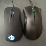 Myš SteelSeries Rival vs Razer DeathAdder