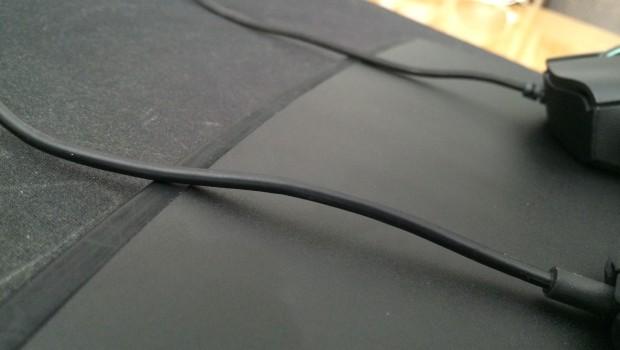 Porovnanie káblov. Gumený vs textilný.