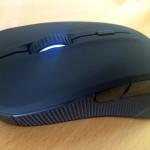 Myš SteelSeries Rival - pohľad z hora