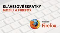 V tomto rozpise nájdete všetky používané klávesové skratky (keyborar shortcuts) prehliadača Mozilla Firefox. Dobrá znalosť klávesových skratiek výrazne urýchľuje prácu s akýkoľvek softvérom a preto je výhodou, ak si aspoň […]